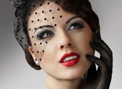 maquillage femme 1920