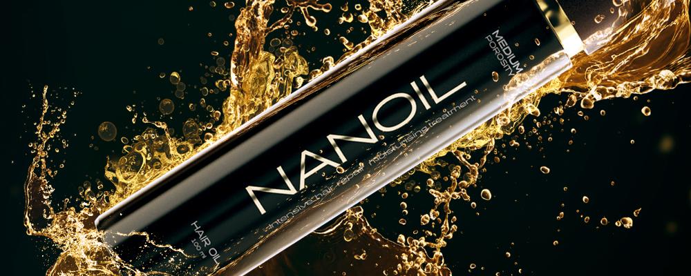 Nanoil hair oil Meilleur huile pour les cheveux